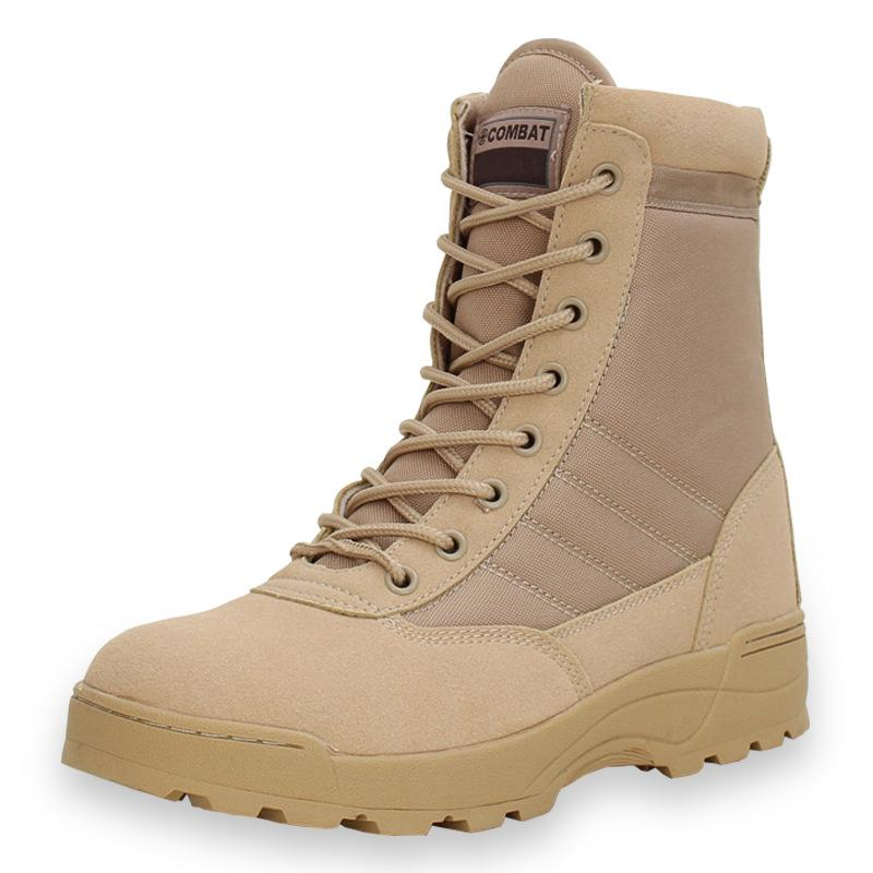 LovelyMs Tactical Military Work Safty Zapatos De Mujer Zapatos Ankle Lace-up Combat Boots