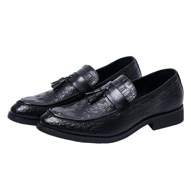 LovelyMs Tassel Business Formal Men Shoes