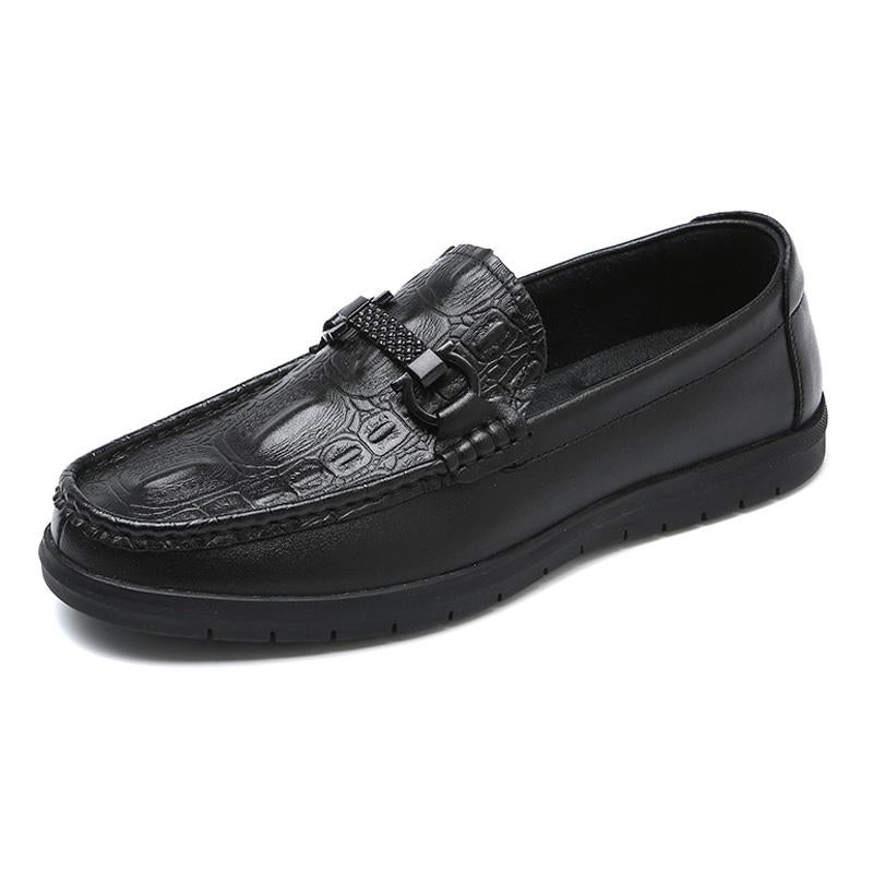 LovelyMs Genuine Leather Men Business Fashion Shoes