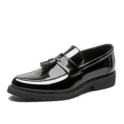 LovelyMs Fashion Leather Men's Personality Tassel Classic Shoes