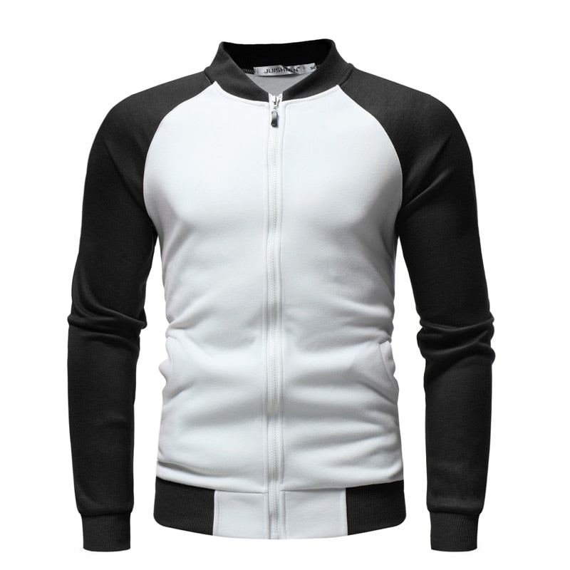 New Men's Sweatshirt Cotton Long-sleeved V-neck Sweatshirt