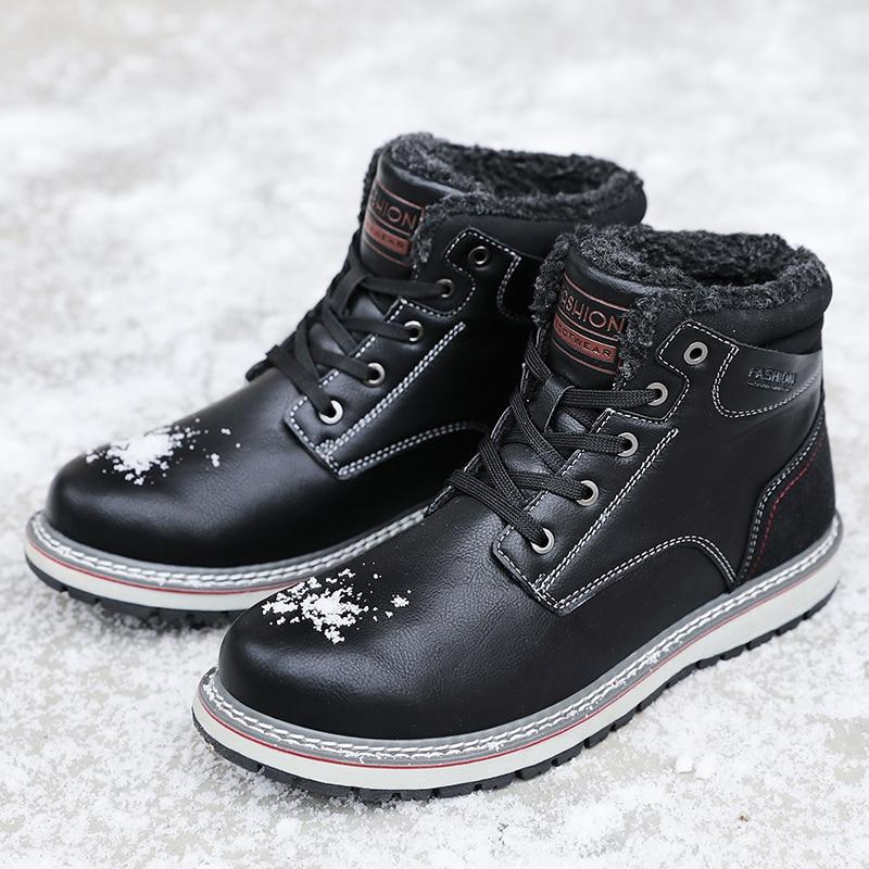 High Quality Cashmere Keep Warm Ankle Snow Boots SOY8272