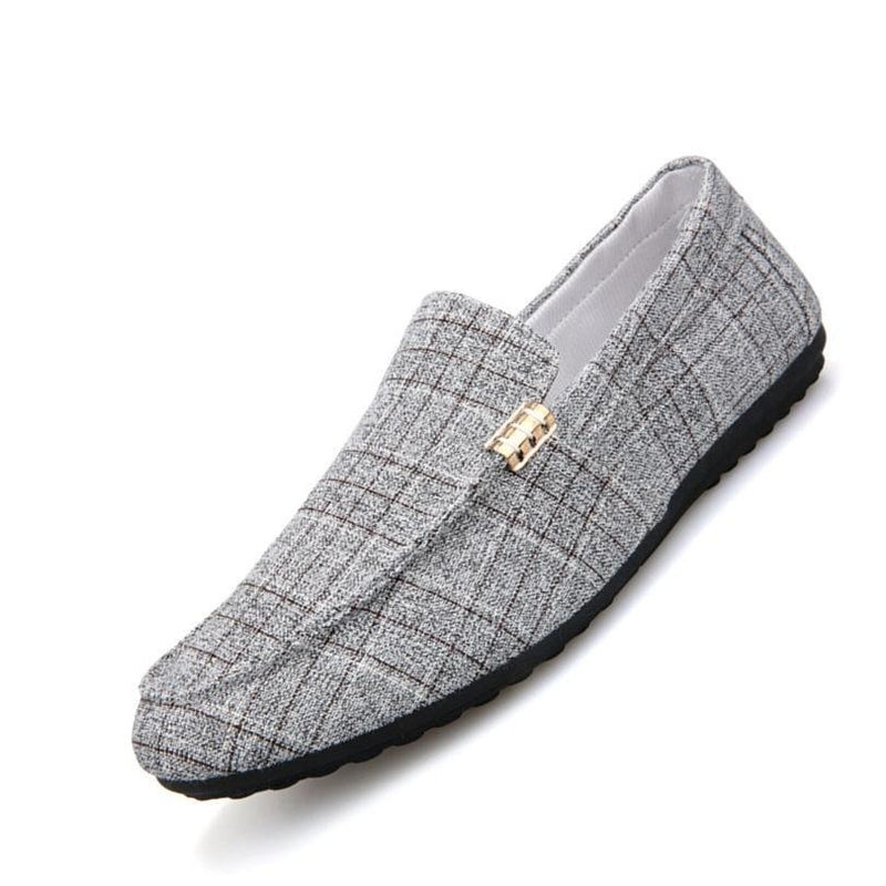 New Fashion Men's Spring Style Canvas Men Loafers