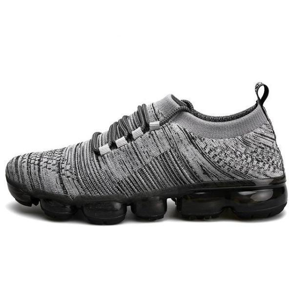 Breathable Mesh Lightweight Weave Lace Up Men's Casual Shoes
