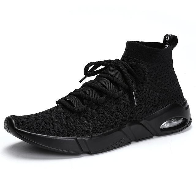 Fashion Plus Size Breathable Mesh Ultra Light Men's Casual Shoes