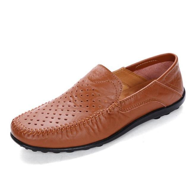 Plus Size Slip On Moccasins Men's Casual Shoes