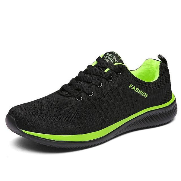 LovelyMs New Mesh Lac-up Men Shoes Lightweight Comfortable Breathable Walking Sneakers