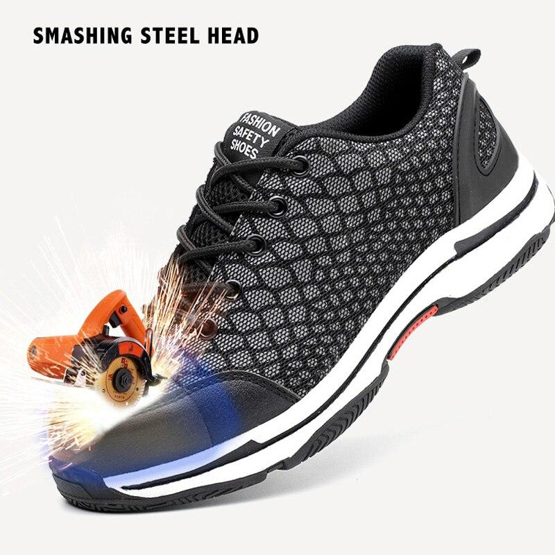 LovelyMs Anti-smashing Construction Sneakers Chameleon Shoes
