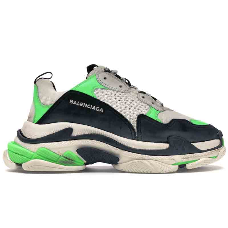 Balenciaga Triple S leather sneakers (Dissatisfied , Full Refund. Free Shipping: 5-8 days)