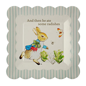 Peter Rabbit Plates Small (12 Pack)