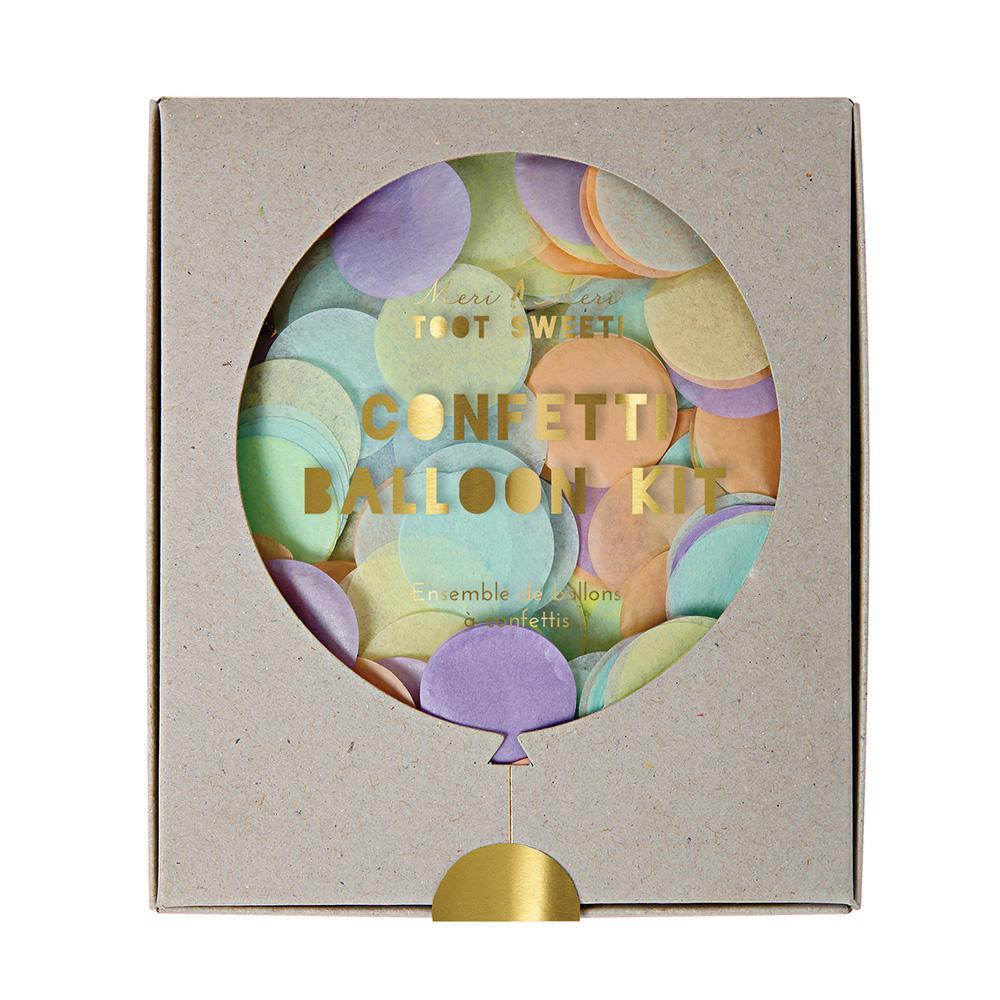 Pastel Confetti Balloon Kit