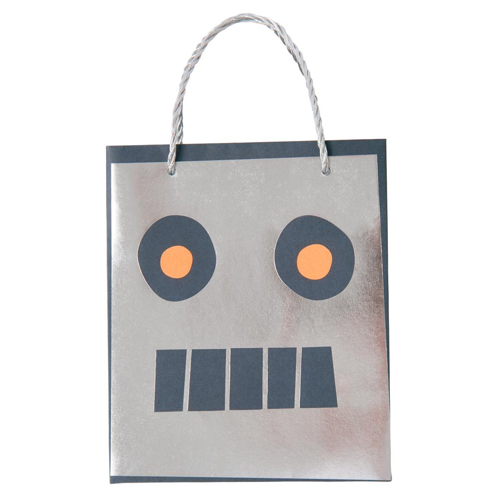 Space Robot Party Bags (8 Pack)