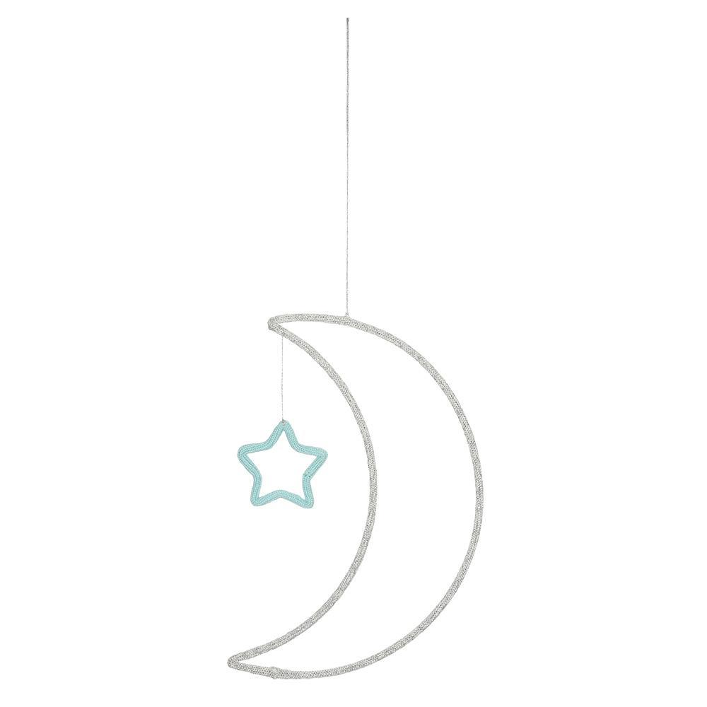 Space Moon & Star Hanging Decoration