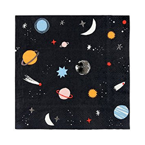 To The Moon Napkins Large (Pack 16)
