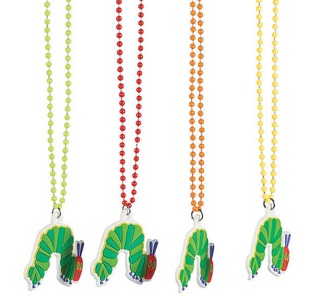 The Very Hungry Caterpillar Bead Necklaces