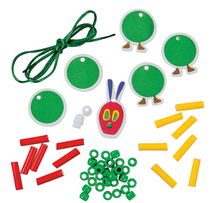 The Very Hungry Caterpillar Necklace Craft Kit