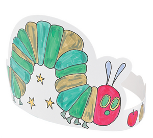 Color Your The Very Hungry Caterpillar Crowns (12 Pack)