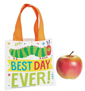 Mini The Very Hungry Caterpillar Tote Bags (12 Pack)