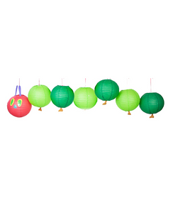 The Very Hungry Caterpillar Paper Lantern Decoration Kit
