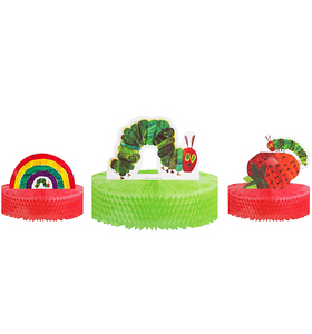 The Very Hungry Caterpillar Honeycomb Centerpieces 3ct