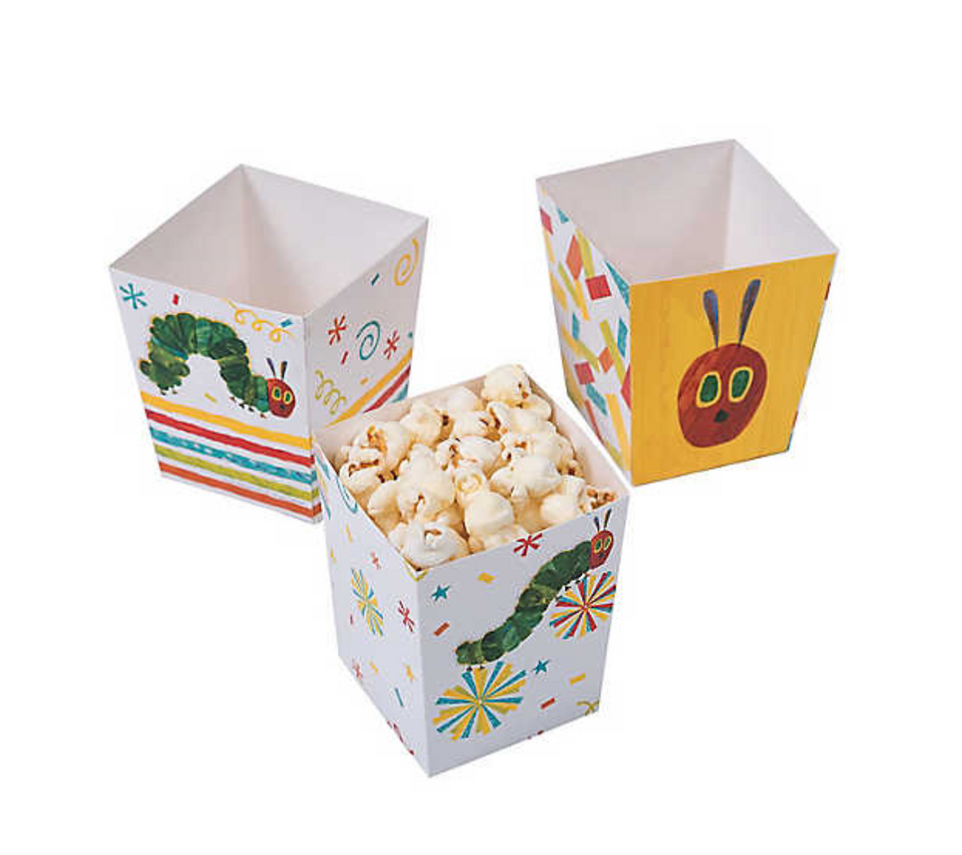 The Very Hungry Caterpillar Popcorn Boxes