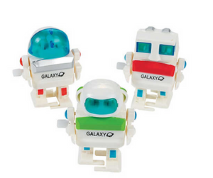 Wind-Up Robots