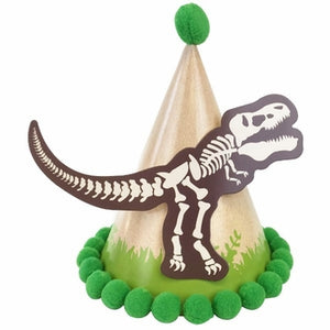 Dinosaur Themed Party Cone Hat