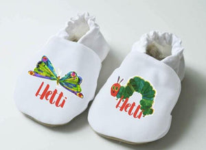 The Very Hungry Caterpillar Baby Shoes (Customize)