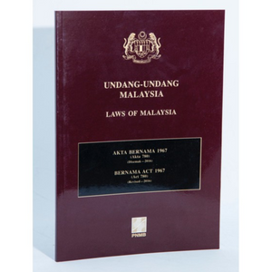 Bernama Act 1967 (Act 780) (Revised - 2016)