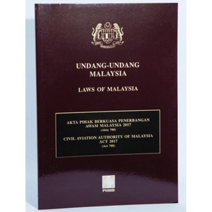 Civil Aviation Authority Of Malaysia Act 2017 (Act 788)