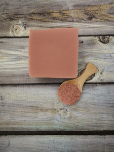 Rose clay with lavender bar soap