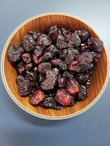 Dried sliced cranberry (per 100g)