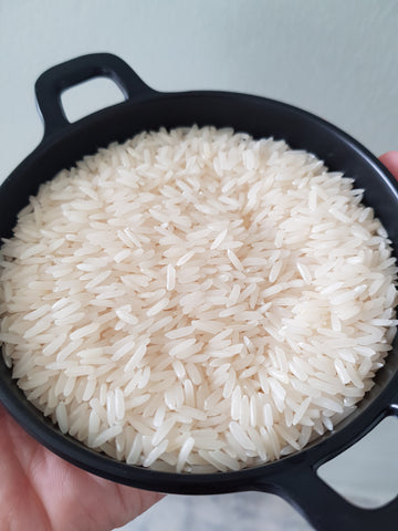 Fragrant white rice