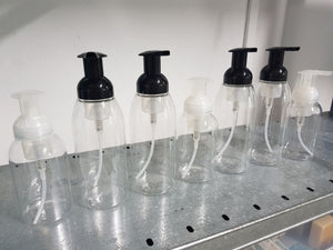 Foaming pump bottle