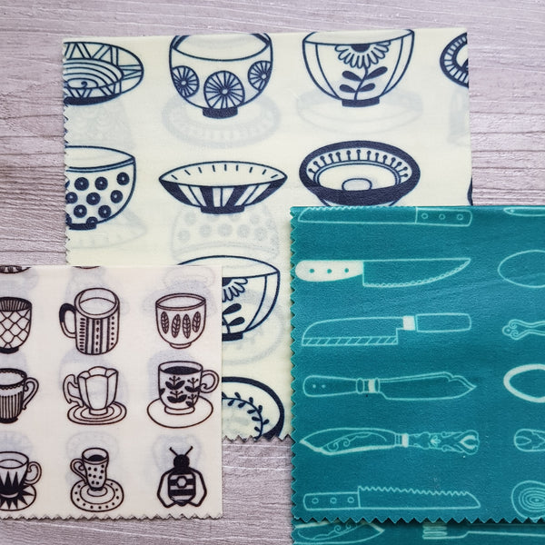 Beeswax wraps - Beeginner set