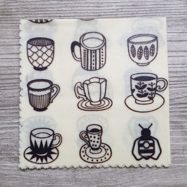 Small beeswax wrap - Cups