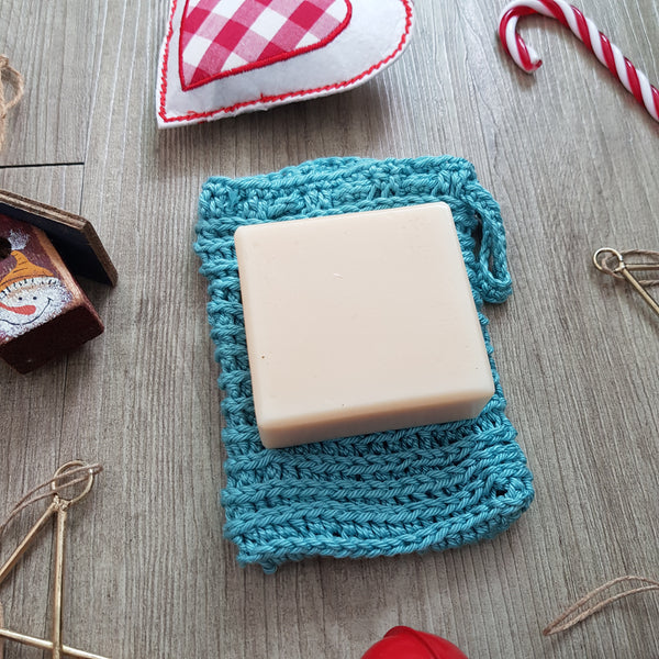 Christmas gift set: Soap with soap saver