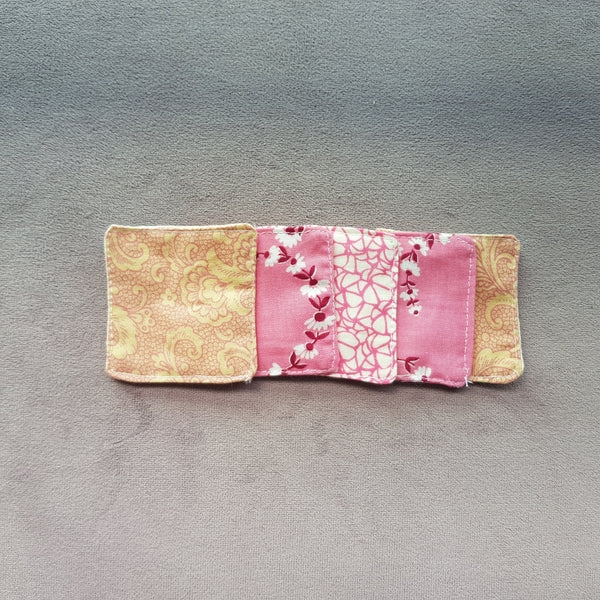 Sweet florals cotton facial pads