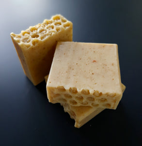 Bee pollen bar soap