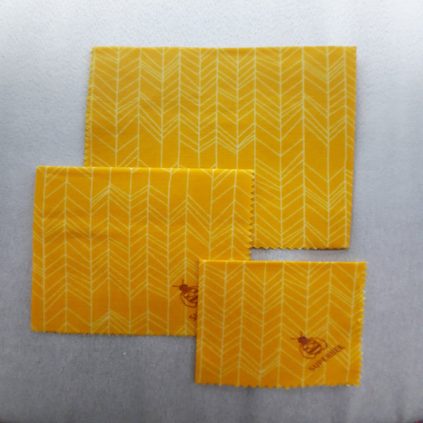 Beeswax wraps (Beeginner set)