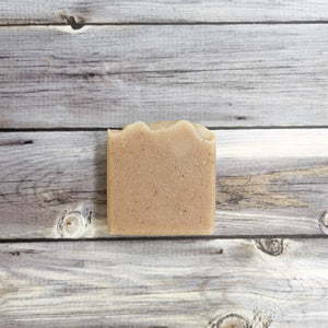 Almond milk bar soap (unscented)