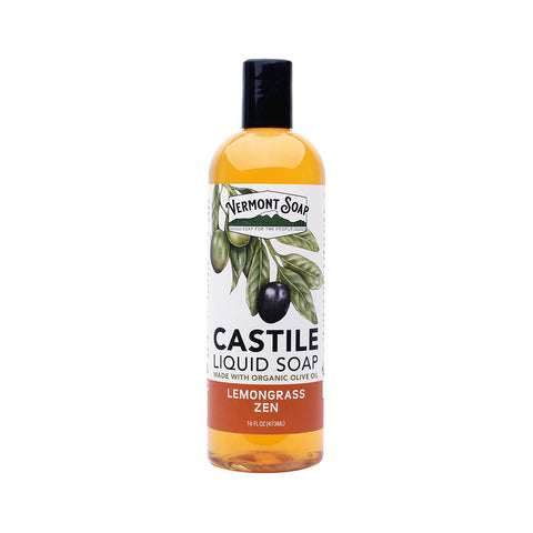 Vermont castile soap - Lemongrass (per 100ml)