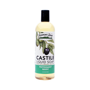 Vermont castile soap - Peppermint (per 100ml)