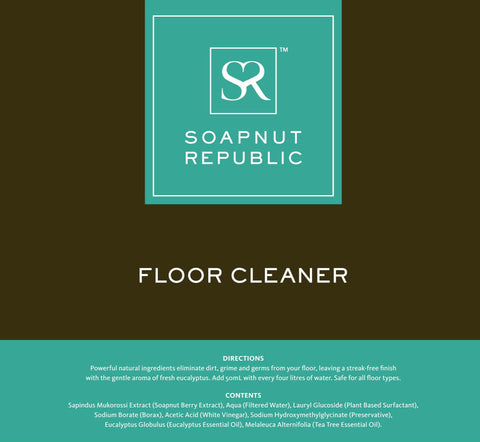 Soapnut Republic - Floor Cleaner with Eucalyptus