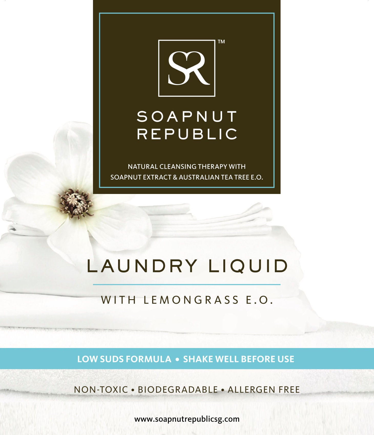 Soapnut Republic - Laundry Liquid with Lemongrass