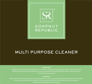 Soapnut Republic - Multi-Purpose Cleaner with Citrus