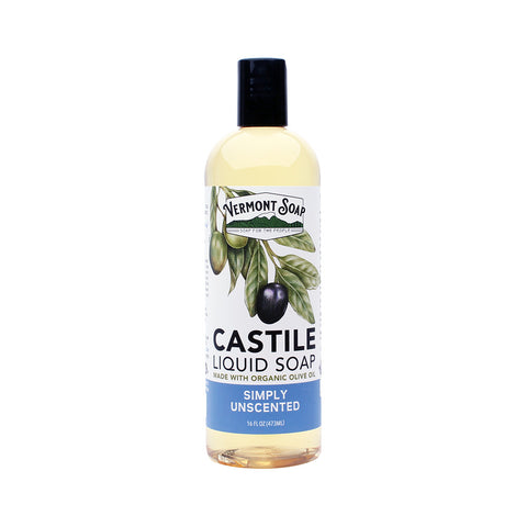 Vermont castile soap - Unscented (per 100ml)