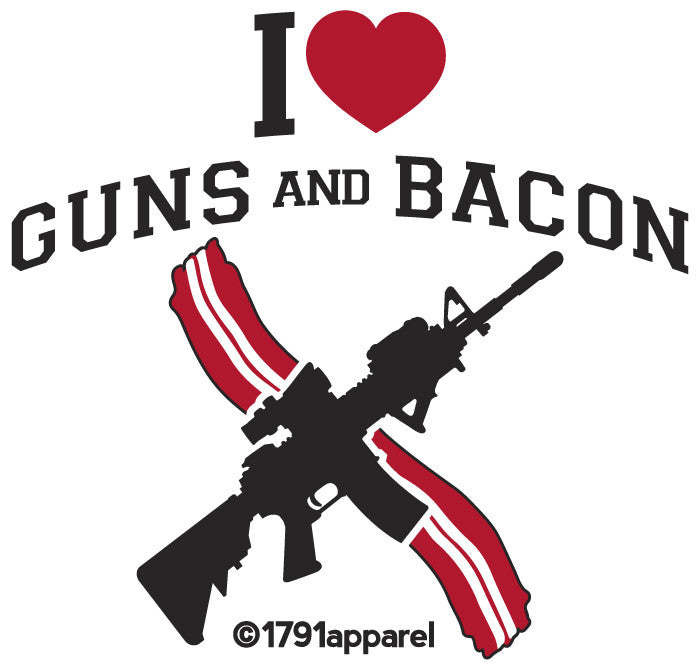Guns N Bacon!