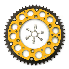 Load image into Gallery viewer, KKE 44T/48T/49T/50T/51T GOLD REAR HYBRID SPROCKET FOR SUZUKI RMZ250 RMZ450 RM125/250 DRZ400/400E/400S/400SM - KKE Racing