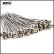 KKE 1.6*21 OEM Size Front Stainless Steel Spoke Set for HONDA CRF250R CRF250X CRF450R CRF450X Silver